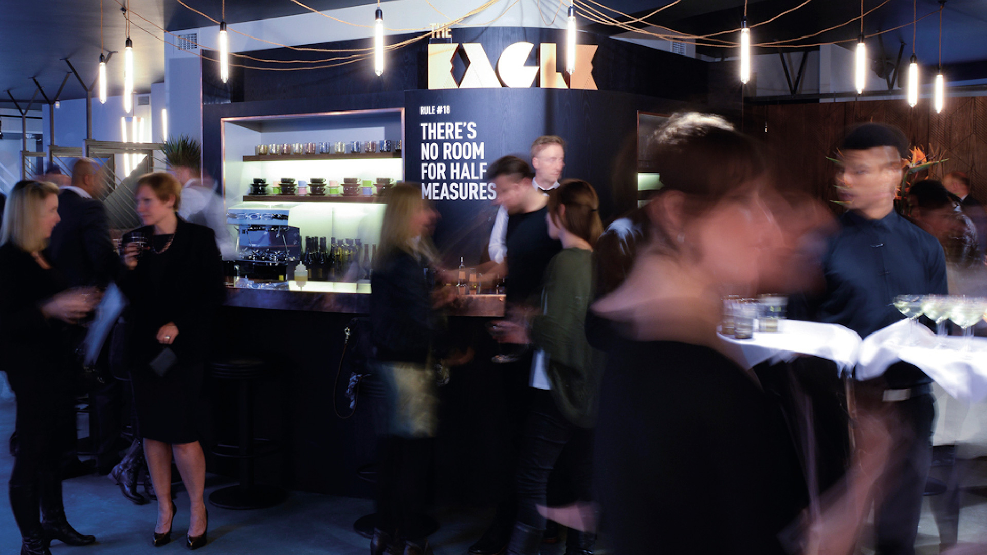 The Eagle event space and marketing suite