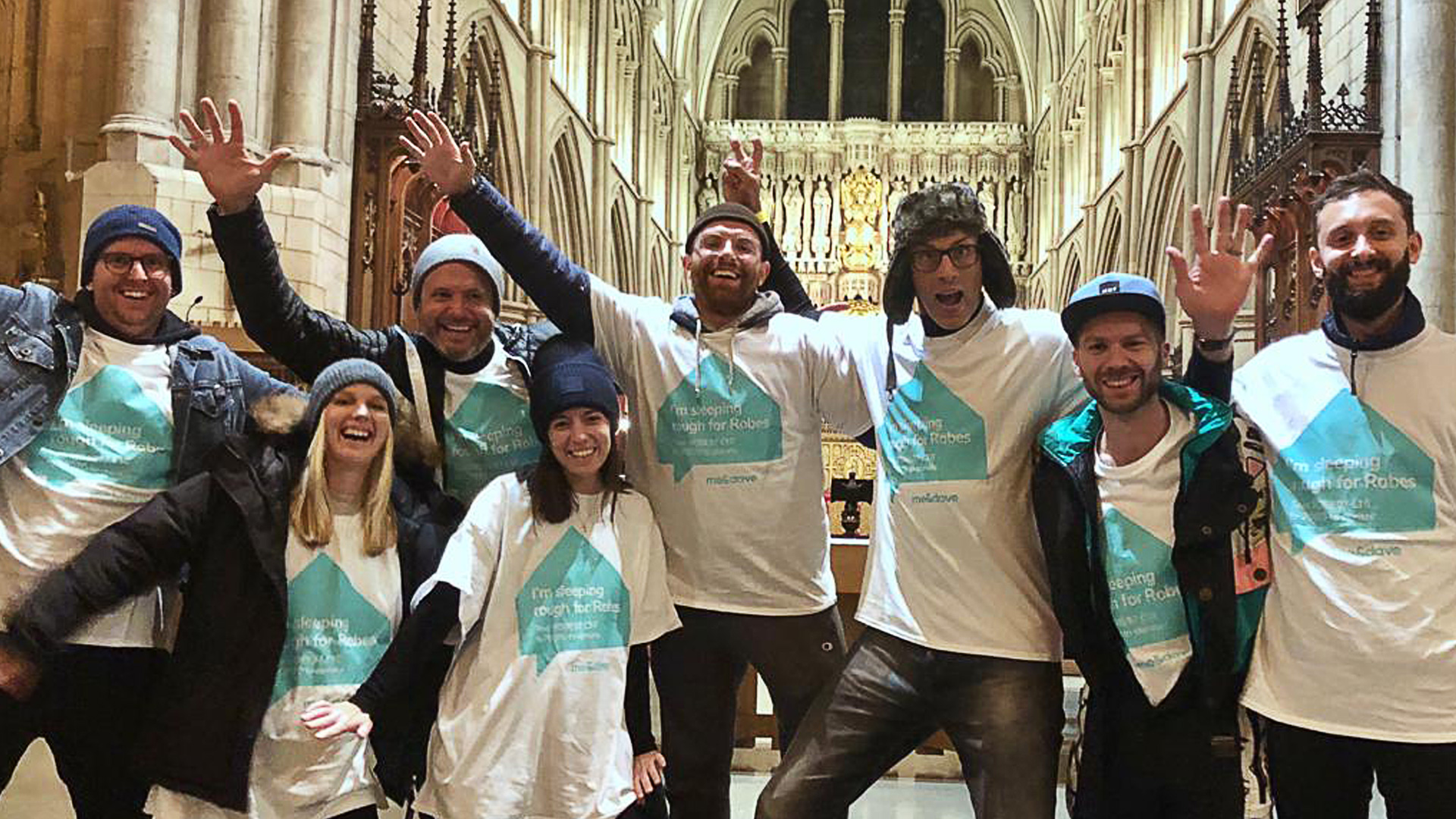 Robes Charity Sleepout