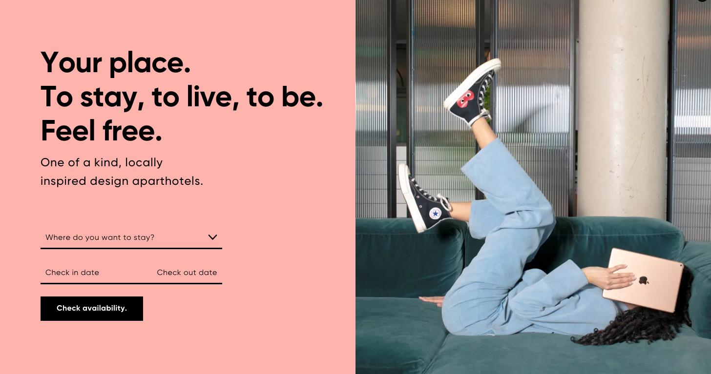 Locke Hotel homepage